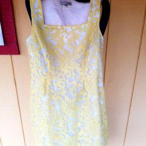 WOMEN'S YELLOW SHEATH DRESS